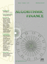 Algorithmic Finance cover